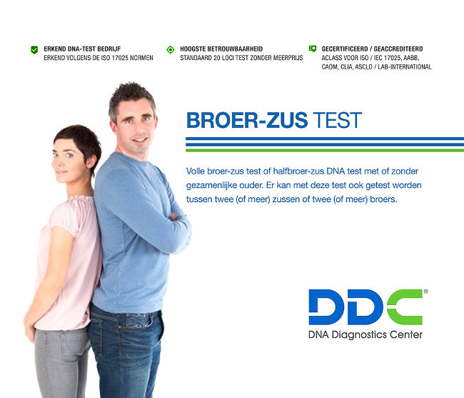 Broer of zus DNA-test