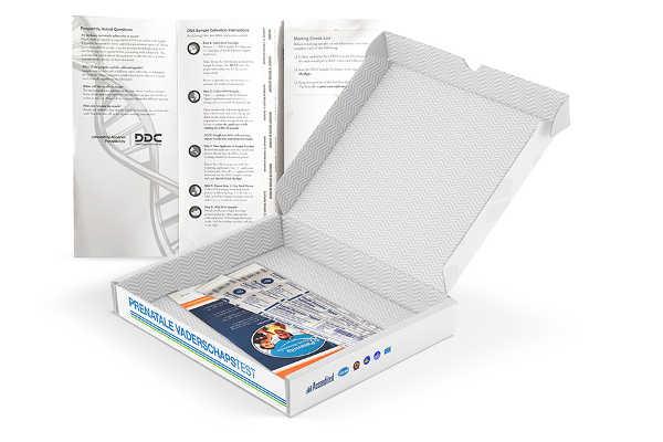 Prenatale vaderschapstest – doe het zelf kit